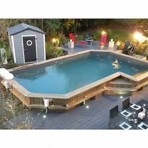 Piscine Semi Enterré Bois : piscine en bois sur mesure bluewood ~ Premium-room.com Idées de Décoration
