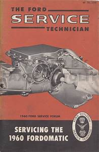1960 Ford Fordomatic Transmission Service Manual 2