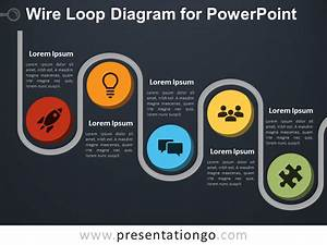 Wire Loop Diagram For Powerpoint