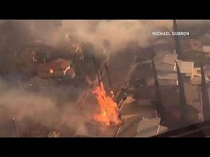 Footage shows 'unbelievable conditions' as Creek fire ...