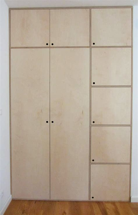 Diy Bedroom Cupboards Plans by Plywood Wardrobe Home Inspiration Plywo