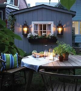 Romantic Cozy Patio Design