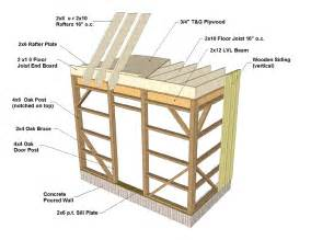 4x6 Outdoor Storage Shed by Barn Framing Details Barn Framing Techniques
