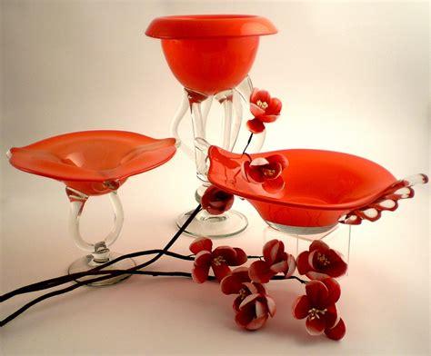 Decorative Glass Vases, Decorative Bowls And