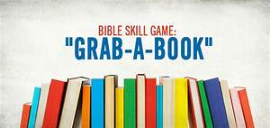 Bible Skills Game: Grab a Book