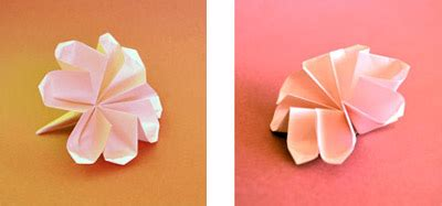 origami flower video instructions