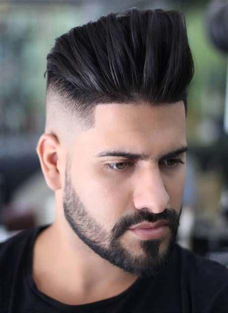pin en rostros peinados  barbas