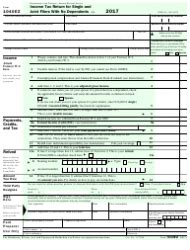 irs form 1040ez fillable pdf 2017 income tax return for single and joint filers with