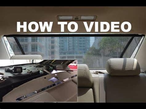 motor repair manual 2010 lexus is f windshield wipe control toyota rear window shade removal youtube