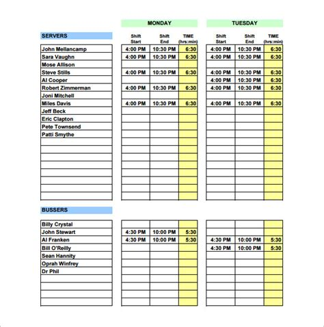 house planner free kitchen schedule template excellent amusing minimalist