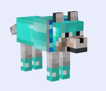 minecraft shiny diamond wolf     wolf
