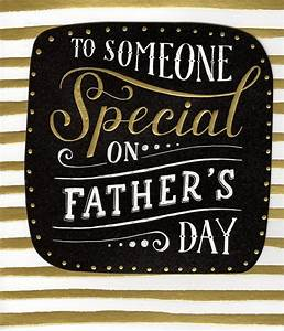 To Someone Special On Happy Father's Day Card | Cards ...