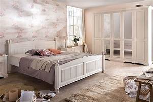 Schlafzimmer Weiß Landhaus : schlafzimmer landhausstil wei pisa romantik massivholz stil p02 ~ Sanjose-hotels-ca.com Haus und Dekorationen