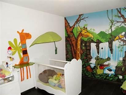 Jungle Chambre Enfant Bebe Theme Deco Garcon