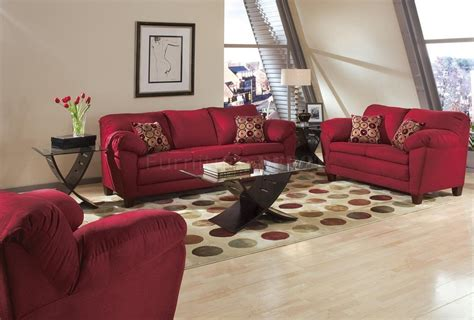 Contemporary Living Room Sofas by Living Rooms With Bugundy Sofas Burgundy Micro Suede