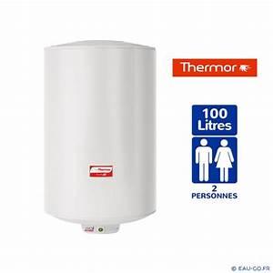 Chauffe Eau Electrique 100l : chauffe eau electrique 100l thermor duralis vertical mural ~ Dailycaller-alerts.com Idées de Décoration