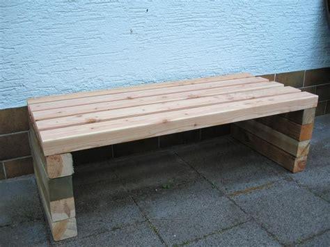 Gartenbank selber bauen  Seite 1  Gartenpraxis Mein
