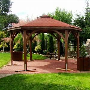 Möbel Aus Polen Bestellen : sechseckig pavillon mit rundbogen kopfb nder pavillon aus holz ~ Watch28wear.com Haus und Dekorationen