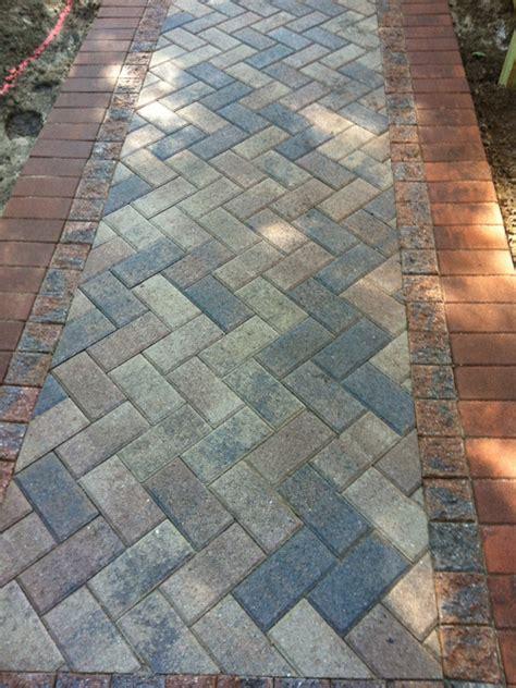 patterns for brick walkways brick paver walkway close up brick natural stone paver walkways pinterest paver walkway