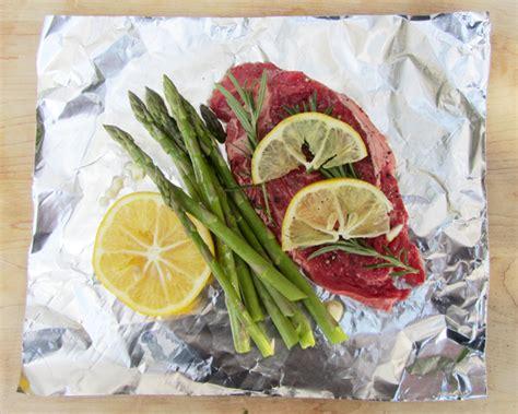 foil packet lemon herb steak foil packet summer grilling recipe popsicle blog