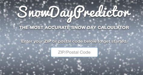Snow Day Calculator by Snow Day Calculator 8 Subjects