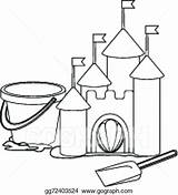 Drawing Sandbox Paintingvalley Sand sketch template