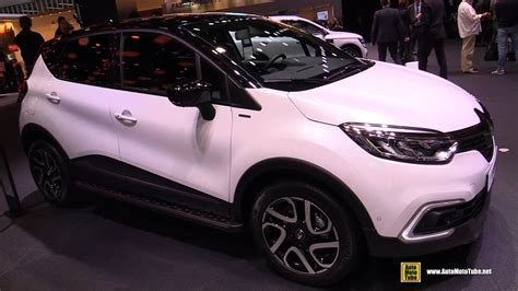 renault geneva 2018 renault captur exterior and interior walkaround