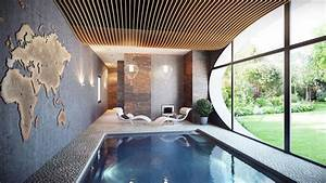 la piscine interieure un reve pour profiter de leau With amenagement petit jardin avec piscine 15 piscine de luxe pour une residence de prestige design feria