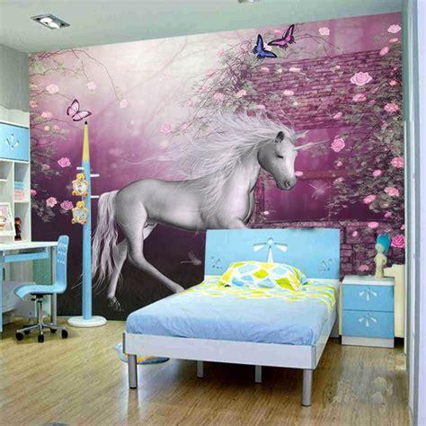 papier peint chevaux pour chambre achetez en gros murale à cheval en ligne à des grossistes