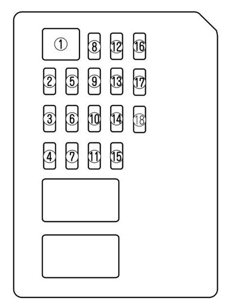 Mazda Fuse Box Diagram Auto Genius