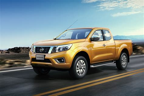 nissan pickup 2015 all new 2015 nissan navara frontier officially revealed