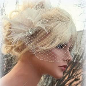 Wedding Hair Accessories Bridal Veil Great Gatsby Style
