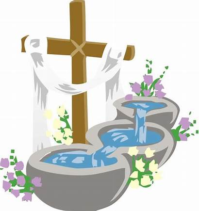 Baptism Easter Vigil Pools Church Episcopal Pm