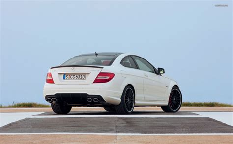 Mercedes C Class Coupe Backgrounds by Mercedes C Class C 63 Amg Coupe 2012 Hd Wallpaper