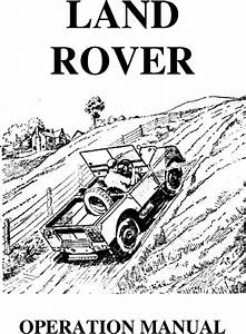 Landrover Series 1 Operation User Owner Manual 1948 1949