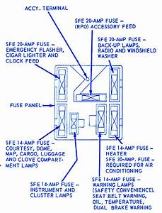 Ford Montego 1974 Heater Fuse Box  Block Circuit Breaker