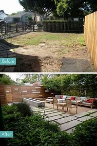 before and after 5 inspiring porch and patio makeovers With amenager un jardin rectangulaire 2 terrasse de jardin moderne planification et conception