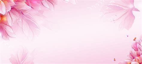 pink flowers cosmetic romantic poster background dream