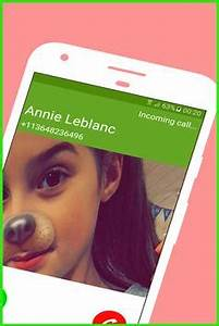 Call From Annie LeBlanc APK Download Free Simulation