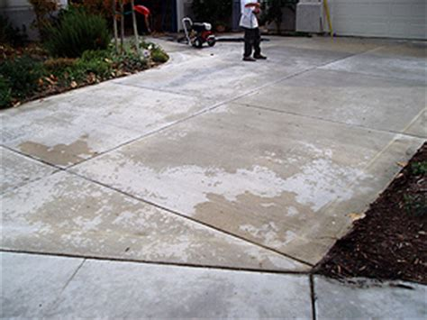 restore refurbish maintain caring for colored concrete