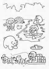 Eskimo Coloring Printable Winter Arctic Pages Animals Preschool Worksheets Template Kleurplaat Pole Polar Inuit Antarctica Sheets North Printables Eskimos Aleut sketch template