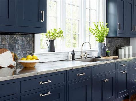 Antique Blue Cabinets