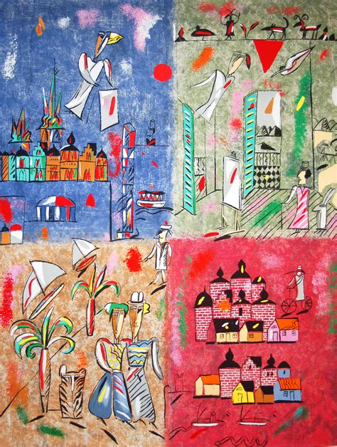 Madeleine Pyk - Fyra kontinenter | Modern konst till salu