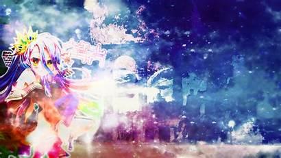 Shiro Akw Zero Wallpapers Anime Sky Deviantart