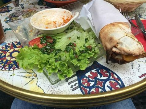 cuisine bernard falafel pitta taouk picture of falafel cafe tripadvisor