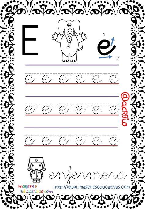 trazos para aprender cursivo cuaderno de trazos im 225 genes educativas letra escolar 5