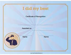 25 best certificates images on pinterest award With cub scout certificate templates