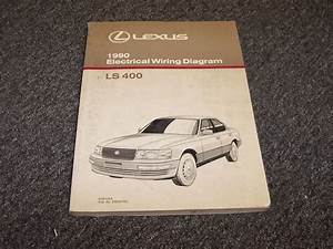 1990 Lexus Ls400 Sedan Factory Original Electrical Wiring