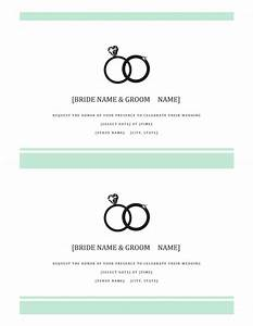 free wedding invitation templates for microsoft word With free wedding announcement templates for word