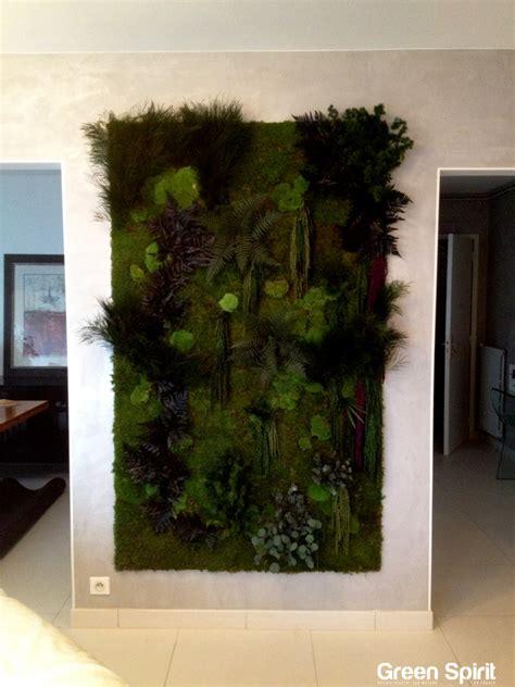 siege social bonobo mur végétal stabilisé green spirit